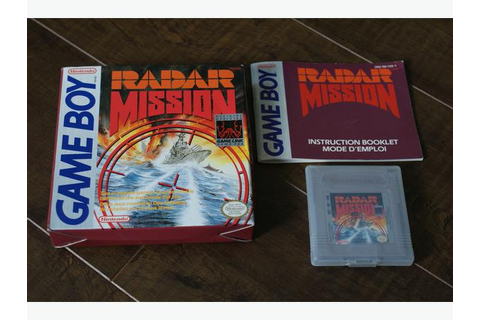 Radar Mission for Nintendo Game Boy REDUCED PRICE Saanich ...