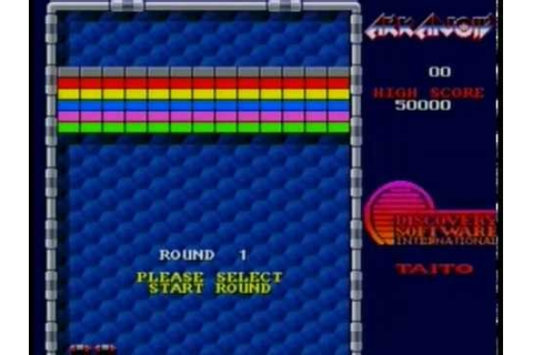 "ARKANOID ""GAME + ENDING"" (AMIGA) - YouTube"