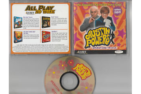 Austin Powers Operation Trivia (PC, 1999) Game Windows CD ...