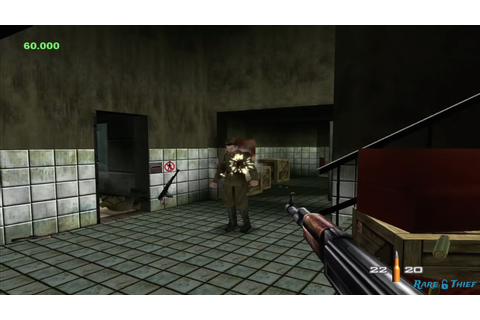 This is what Goldeneye 007 might have looked like on Xbox ...