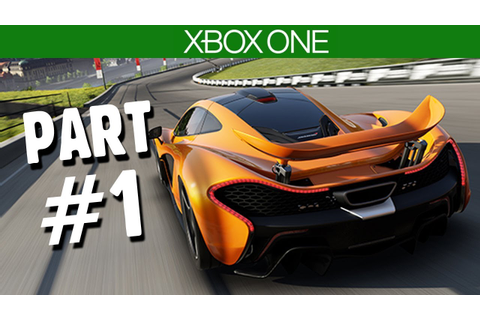 Forza Motorsport 5 Gameplay Walkthrough Part 1 (Xbox One ...