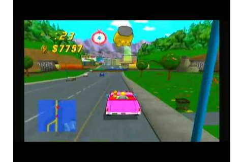 The Simpsons: Road Rage (PS2 Gameplay) - YouTube