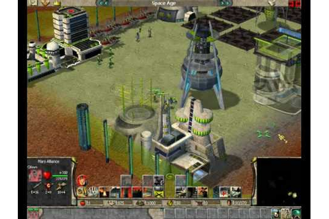 Empire Earth AOC Mars Colony last mission - YouTube