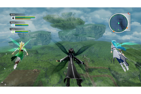 Sword Art Online: Lost Song Basic Gameplay - YouTube