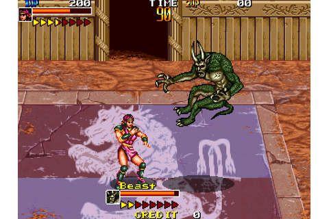 Mutant Fighter (1991) by Data East Arcade game