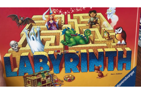 how to play the board game labyrinth - YouTube