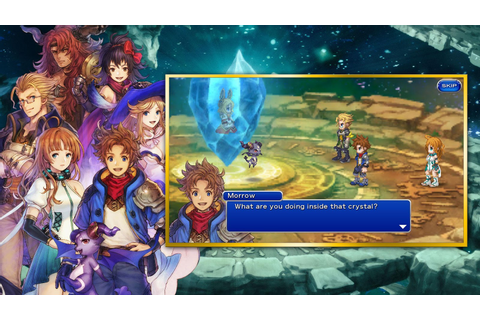 Square Enix has released 'Final Fantasy Dimensions II,' a ...