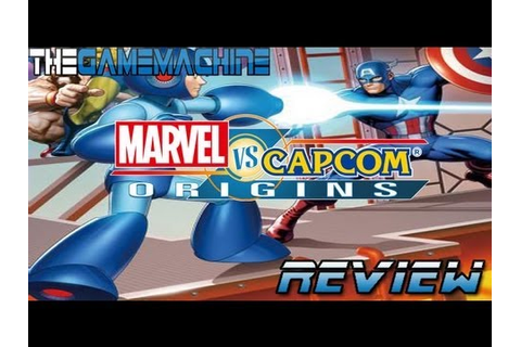 Marvel Vs Capcom Origins Review: The Game Machine for 360 ...