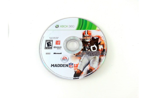 Madden NFL 12 game for Xbox 360 (Loose) | The Game Guy