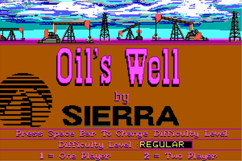 Play Oil's Well (1984) Online - My Abandonware