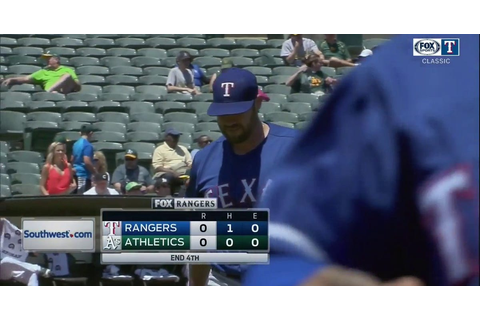 Rangers CLASSICS Highlights | Colby Lewis Pitches Near ...