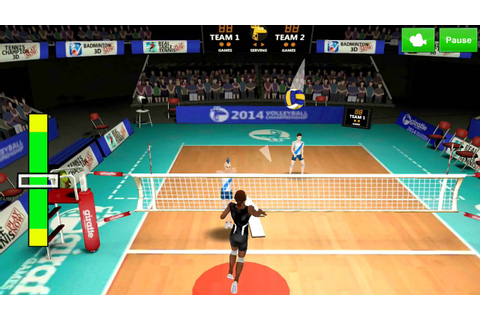 Volleyball Champions 3D 2014 Android Gameplay - YouTube