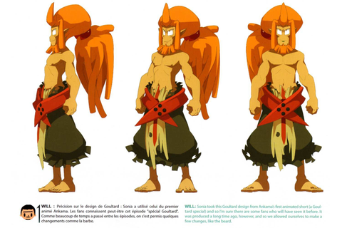 Model Sheet de Goultard (Wakfu) | turnaround perso cartoon ...