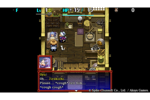 Shiren the Wanderer: Tower of Fortune and the Dice of Fate ...