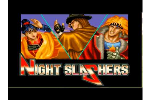 Night Slashers X OpenBor Arcade Playthrough Stage 1-2 of 8 ...