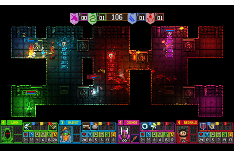 Dungeon League is a four-player party dungeon crawler | PC ...