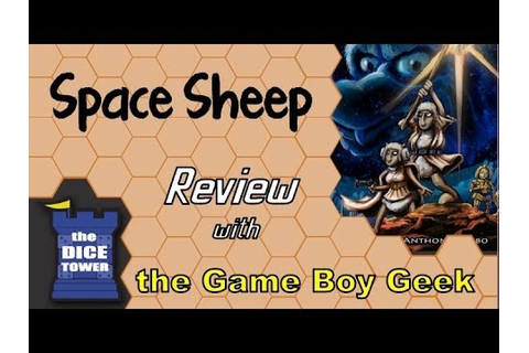 Space Sheep Review - with the Game Boy Geek - YouTube
