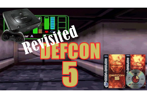Revisited Defcon 5 For The Sega Saturn Classic Retro Game ...