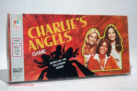 Charlie's Angels Board Game Milton Bradley 1978 by ...