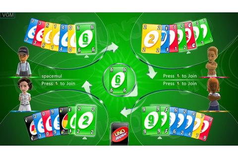 Uno Rush for Microsoft Xbox 360 - The Video Games Museum