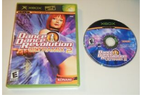 Dance Dance Revolution Ultramix 2 GAME & CASE : XBOX ...