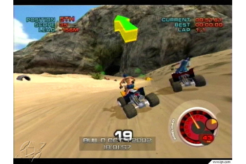 ATV Quad Power Racing 2 Nintendo Gamecube Racing Games ...
