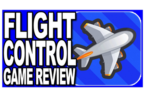 Flight Control - Game App Review - YouTube