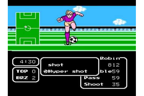Tecmo Cup Soccer Game - Final Match Password - YouTube