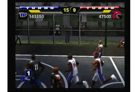 NBA Street (Playstation 2) Game Play - YouTube