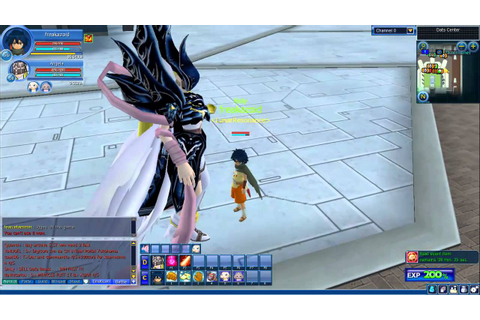 Digimon Masters Online Angewomon BlackDiamond - YouTube