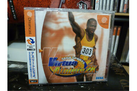 Virtua Athlete 2K (2000) Brand New Factory Sealed Japan ...