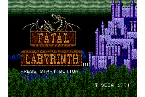 Fatal Labyrinth Download Game | GameFabrique