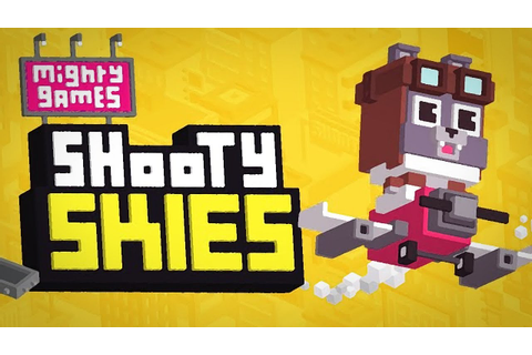 SHOOTY SKIES - GAMEPLAY IOS/ANDROID - YouTube