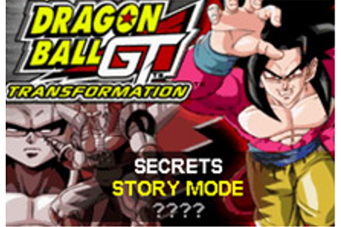 Dragon Ball GT Transformation Online - Play online ...