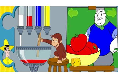 Mix and Paint - Curious George Games - PBS KIDS - YouTube