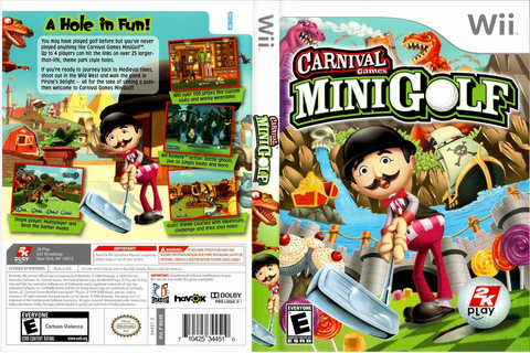 RG9E54 - Carnival Games: Mini Golf