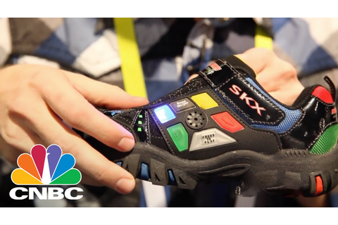 Sketchers Game Kicks | CES 2015 | CNBC - YouTube
