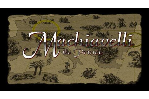 Machiavelli the Prince gameplay (PC Game, 1995) - YouTube
