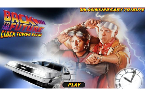Back To The Future: Clock Tower Scene - WTF GAMES 2015 ...