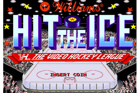 Hit The Ice - The Video Hockey League | 80'S Top Games