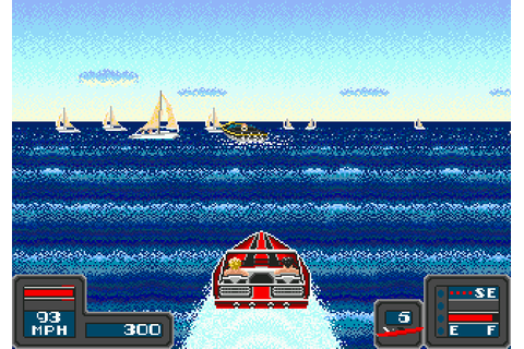Bimini Run (1990) by Microsmiths Mega Drive game