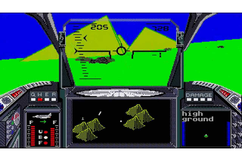 ATARI ST STRIKE FORCE HARRIER aka Harrier Combat Simulator ...