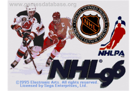 NHL '96 - Sega Genesis - Games Database