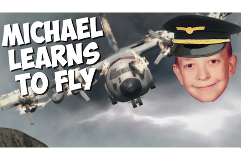 Michael Learns to Fly (Energy Airforce Aim Strike!) - YouTube