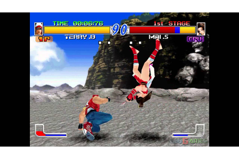 Fatal Fury: Wild Ambition - Gameplay PSX (PS One) HD 720P ...
