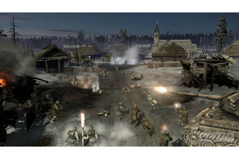 Company of Heroes 2 shots show a cold, Eastern Front - VG247