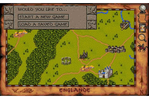 Download Spirit of Excalibur rpg for DOS (1990 ...