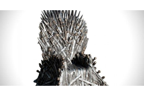 Game of Thrones Iron Throne Replica Chair ...
