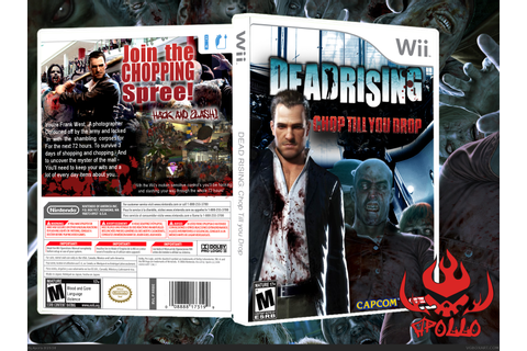 Dead Rising: Chop Till' You Drop Wii Box Art Cover by Apollo