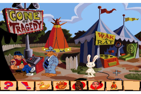 Sam & Max Hit the Road : images du jeu sur PC - Gamekult
